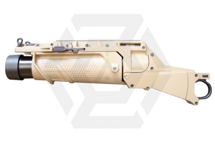 Ares Undermount Grenade Launcher for SCAR (Tan) © Copyright Zero One Airsoft