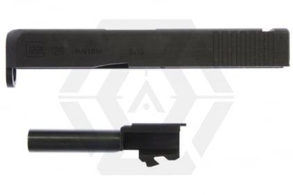 Guarder Steel Slide & Outer Barrel for TM Glock26 / KJ G27