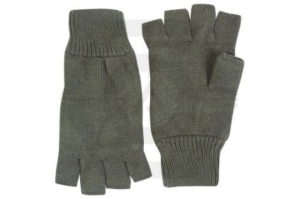 TracPac Acrylic Fingerless Mitts (Olive)