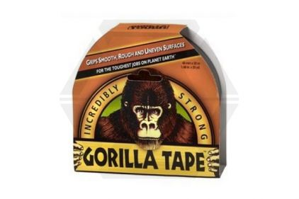 Zero One Gorilla Tape Extra Strong 48mm x 11m (Black)