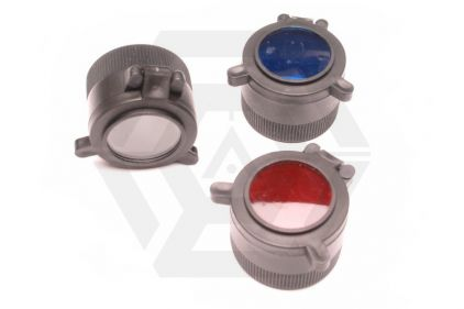 G&P G60 Blue, Clear & Red Filter Set