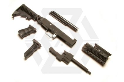 G&P AK Tactical Conversion Kit (Black) Extending Stock