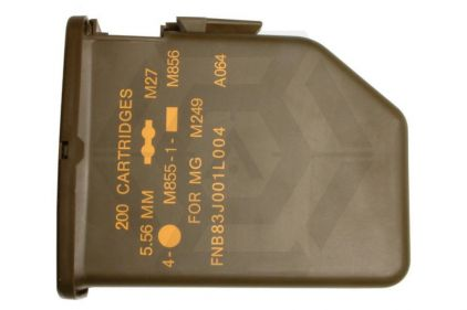 G&P Spare Box Magazine for G&P M249