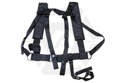Mil-Force Fast Roping Rifle Sling (Black) © Copyright Zero One Airsoft