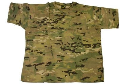 G-Tac Plain T-Shirt (MultiCam) - Size Large