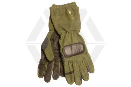 G-Tac Long Sleeve Kevlar Operators Gloves (Olive) - Size Extra Large