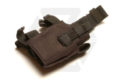 Guarder Right Handed Pistol Thigh Holster (Black)