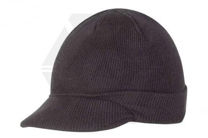 Mil-Com Peaked Acrylic Jeep Hat (Black)