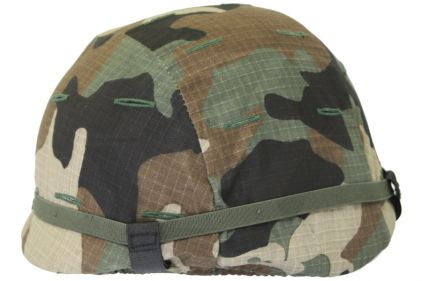 Mil-Force Helmet Cover for SWAT Helmet (US Woodland) © Copyright Zero One Airsoft