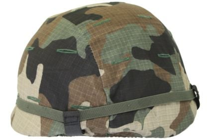 Mil-Force Helmet Cover for SWAT Helmet (US Woodland)