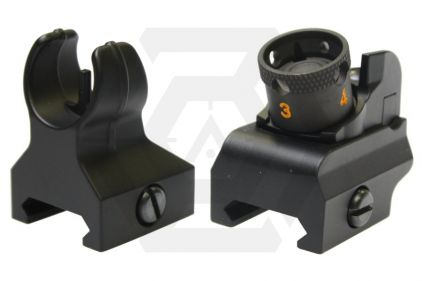 HurricanE HK416 Front & Rear Sight