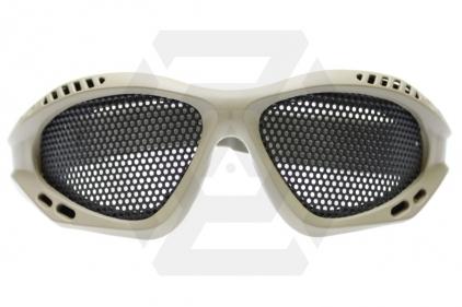 EB Mesh Goggles (Tan)