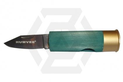 Humvee Shotgun Shell Knife (Green)