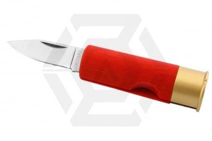 Humvee Shotgun Shell Knife (Red)