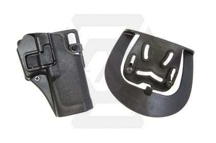 EB CQC SERPA Holster for Glock 17, 22, 31 & 18C (Black)