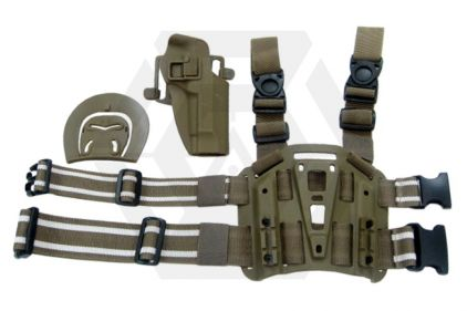 Weekend Warrior CQC Holster & Leg Platform for Beretta M92F (Coyote Tan)