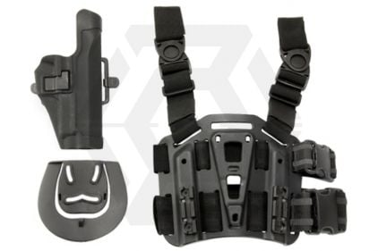 Weekend Warrior CQC Holster & Leg Platform for Sig P226 (Black)
