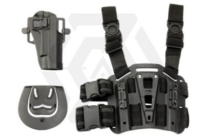 Weekend Warrior CQC Holster & Leg Platform for Colt 1911 (Black) © Copyright Zero One Airsoft