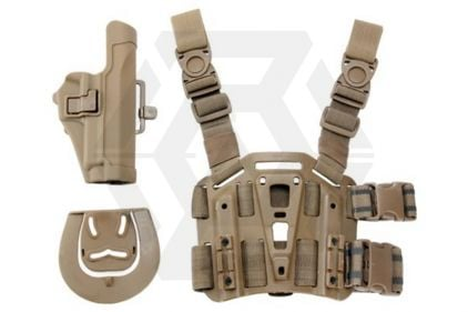 Weekend Warrior CQC Holster & Leg Platform for Sig P226 (Coyote Tan)
