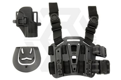 Weekend Warrior CQC Holster & Leg Platform for USG Compact (Black)