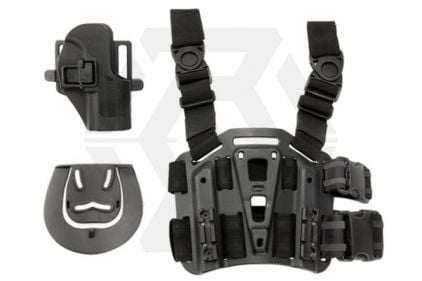 Weekend Warrior CQC Holster & Leg Platform for H&K USP Compact (Black)