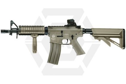 ICS AEG M4 with RIS and Crane Stock (Tan)