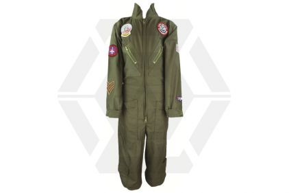 Highlander Kids Flying Suit (Olive) - Size 5/6