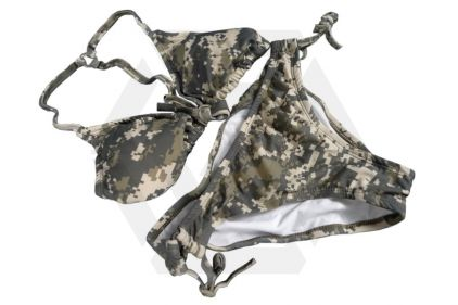 Weekend Warrior Women's Camo Bikini (ACU) - Size Medium