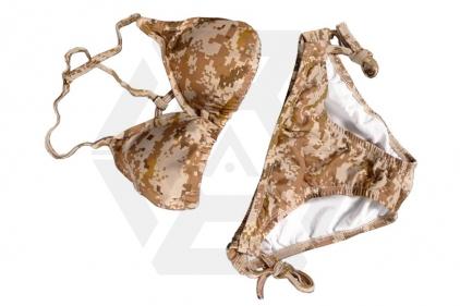 Weekend Warrior Women's Camo Bikini (Digital Desert) - Size Medium