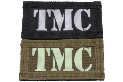 "Weekend Warrior Velcro Patch Glow & Reflective ""TMC"""