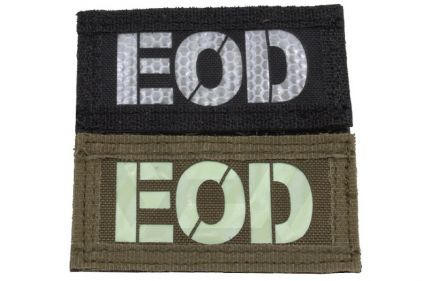 "Weekend Warrior Velcro Patch Glow & Reflective ""EOD"""