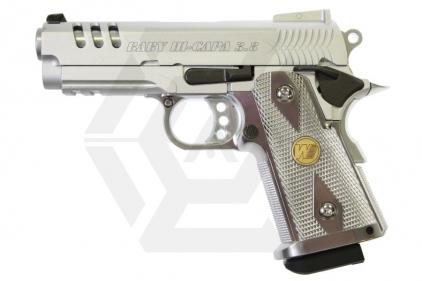 WE GBB Hi-Capa 3.8 Baby CS (Silver)