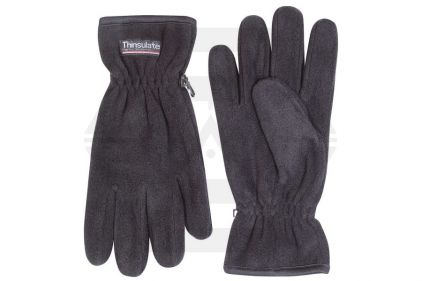 Jack Pyke Fleece Thinsulate Gloves (Black)