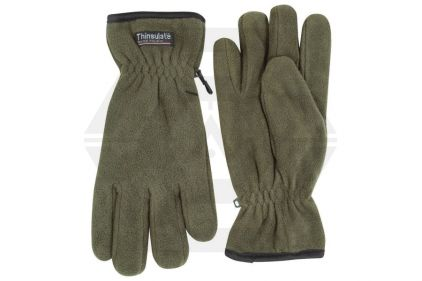 Jack Pyke Fleece Thinsulate Gloves (Olive)