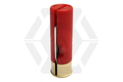 Jack Pyke Shotgun Shell Knife (Red)