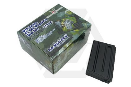 King Arms AEG Mag for M4 85rds VN Box Set of 5 © Copyright Zero One Airsoft