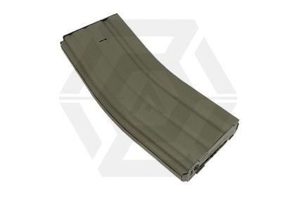 King Arms AEG Mag for M4 450rds (Dark Earth) Box Set of 5