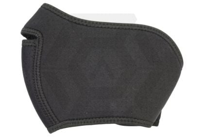 King Arms Black Neoprene Face Mask, Half Face