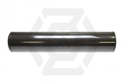 King Arms Carbon Fibre Suppressor 14mm CW/CCW 41 x 200mm