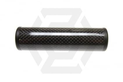 King Arms Carbon Fibre Suppressor 14mm CW/CCW 30 x 110mm