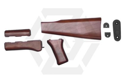 King Arms AK47 Wood Conversion Kit