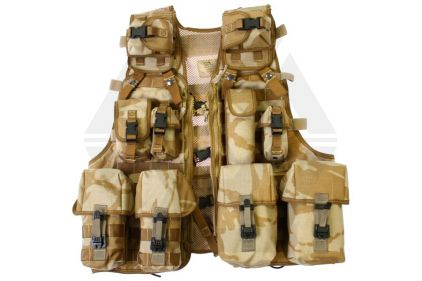 British Genuine Issue LCTV MOLLE Vest (Desert DPM)