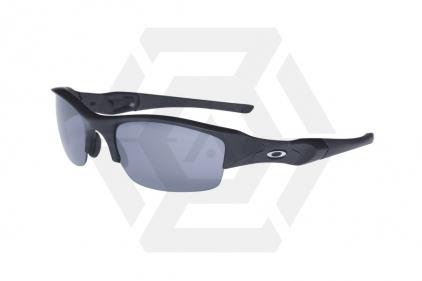 Oakley Tactical Glasses SI Flak Jacket with Grey Lens (Matt Black)