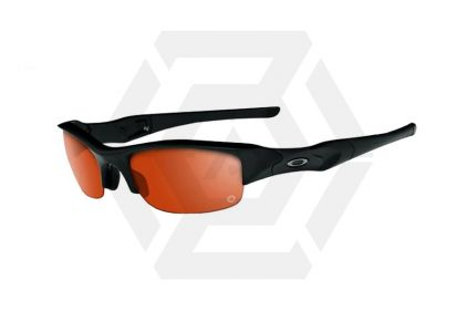 Oakley Tactical Glasses SI Flak Jacket with Transition Lens (Matt Black)