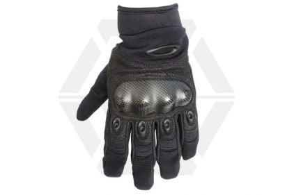 dd67cd37a3 Oakley Factory Pilot Gloves (Black) - Size Extra Large © Copyright Zero One  Airsoft