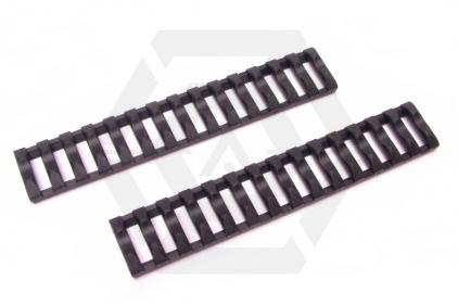 Laylax (Nitro Vo.) Born Rail Cover Set (Black)