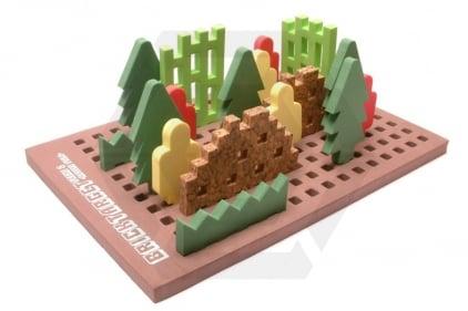 Laylax (Satellite) Brick Target Scene #2 - Forest