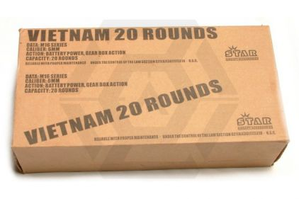 Ares Expendable, M16 VN, 20rd (Box of 10)