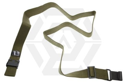 KM-HEAD Cotton Sling for M16 (Olive)