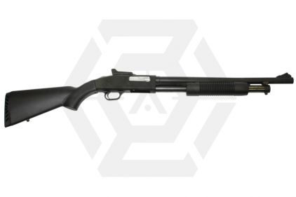 Marushin 8mm Maxi Mossberg M500 Black with Ghost Ring Sight